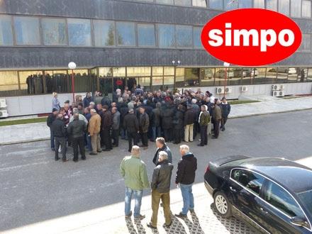 SIMPO: Protest bivših radnika
