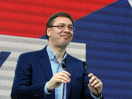 Vučić: Nikolić radi, a ne zvoca; FOTO: D. Ristić/OK Radio