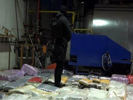 Zaplenjeno više od jedne tone droge FOTO: MUP Srbije