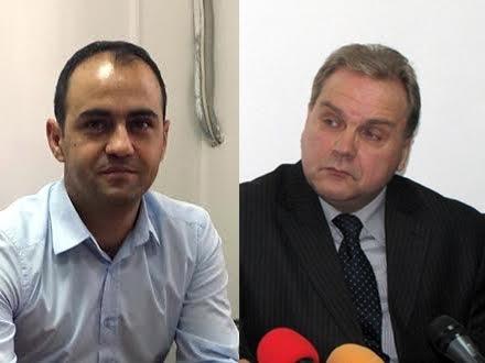 Smena: Petrović (desno) umesto Ignjatovića FOTO OK Radio