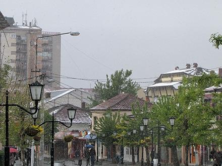 Aprilski sneg u Vranju. Foto: S.Tasić/OK Radio