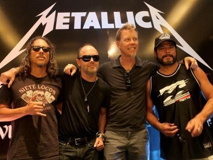 Metallica uvek čelu fronta FOTO: Getty Images