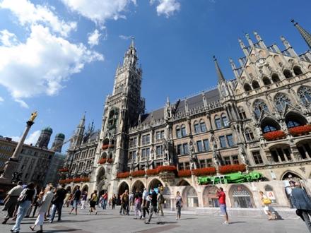 Trg Marijenplac u Minhenu FOTO: DPA