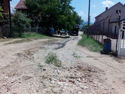 Ulica Meše Selimovića, danas FOTO B. Ristić/OK Radio