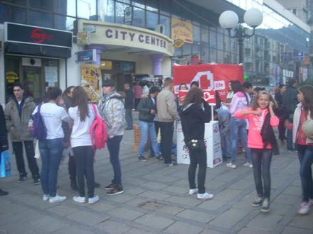 Sa jedne ranije ulične akcije FOTO OK Radio