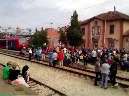 Blokade pruge će se produžiti na po pet sati FOTO: N1 printscreen