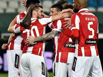 Zvezdini fudbaleri spremni na sve FOTO: FK Crvena zvezda