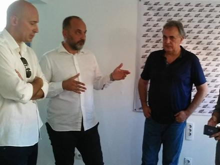 Nuhijević, Janković i Škoro u Vranju FOTO OK Radio