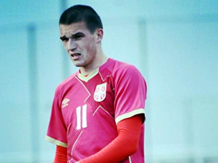 Golovima zaslužio mesto u mladoj selekciji Srbije FOTO: FSS