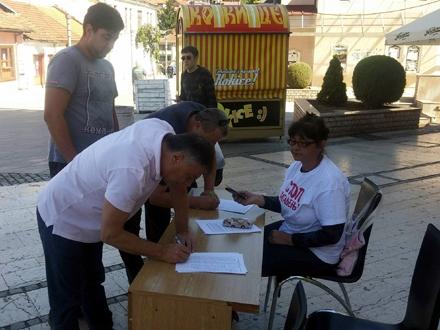 Podrška stigla i od lokalne samouprave FOTO: MZ Belo Polje