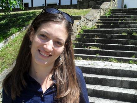 Danica Mirić, novinarka Dopisništva RTS-a u Vranju FOTO: OK Radio