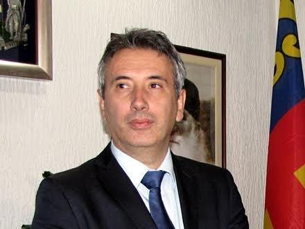 Gradonačelnik Vranja Slobodan Milenković. Foto: S.Tasić/OK Radio