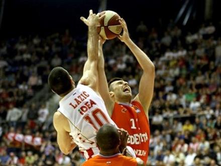Zvezda se neće unapred predati FOTO: KK Crvena Zvezda
