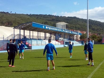 Surduličani se pripremaju za veliku utakmicu FOTO: FK Radnik