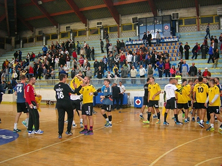 Sve više navijača na rukometnim utakmicama. Foto: RK Vranje