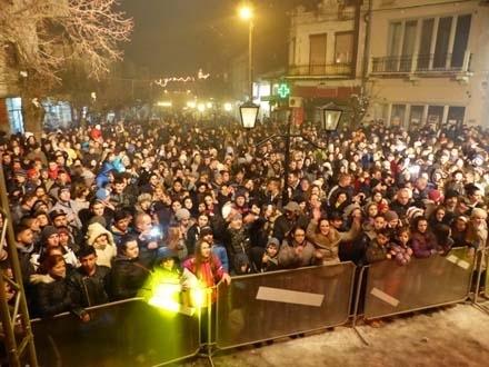Bez kolektivne proslave u centru Vranja. Foto: OK Radio
