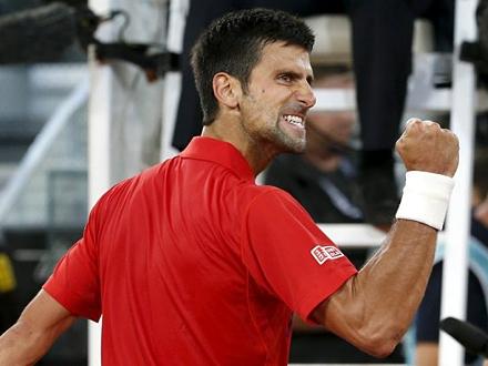 Novak slavio za samo 64 minuta FOTO: Getty Images