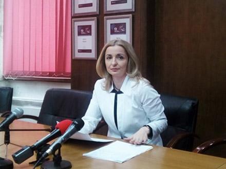 Jovićeva najavljuje nova zapošljavanja. Foto: S.Tasić/OK Radio