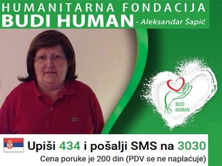 Ljiljani potrebno još oko tri miliona dinara FOTO: budihuman.rs