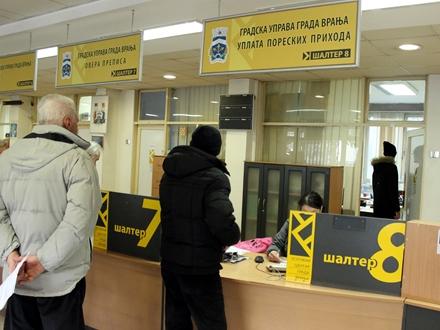 Očekuje se bolje prikupljanje poreza na imovinu FOTO: vranje.org.rs