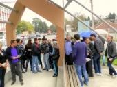 Protest neugovorenih radnika ZC Vranje