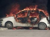 Posle svađe zapalio auto komšiji policajcu