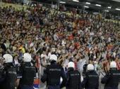 UEFA htela da se meč nastavi
