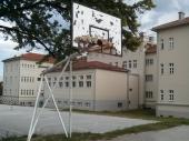 Uništeni koševi kod Gimnazije