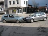 Dvoje povređenih u dve saobraćajke