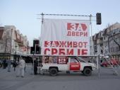 Dveri: Vučić sistematski radi u korist Albanaca sa juga