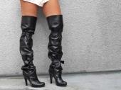 Zimski hit: Čizme iznad kolena