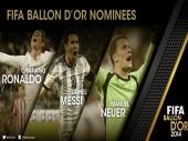 Zlatna lopta: Ronaldo, Mesi ili Nojer?
