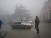 KAO U HOROR FILMOVIMA: Vranje danima u magli
