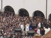 BOGOJAVLJANJE U VRANJU: Krst okupan za 60.000 (FOTO)
