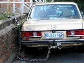 Ukraden auto iz policijske stanice!