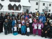 Najbrži vranjski skijaši