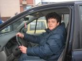 Biserka, jedina žena taksista na jugu Srbije