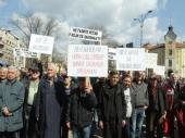 Oko 300 vojnih penzionera protestovalo u Nišu