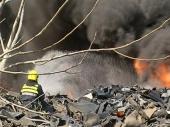 Požar na deponiji u Kragujevcu