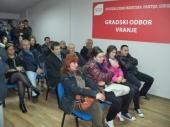 Stanković na čelu OO SDPS-a u Vranju