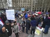 Protest protiv vakcinacije dece