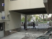 Ceo plafon pao kod ulaza u Tiršovu