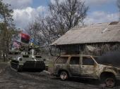 Granatirano selo u Ukrajini