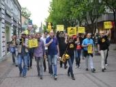 Protest i šetnja za nezaposlene