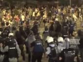 Haos na ulicama Skoplja