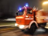 Požar na aerodromu u Rimu