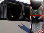 Autobus sa studentima kamenovan u Končulju kod Bujanovca
