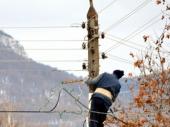 Sa banderom pao i radnik Elektrodistribucije
