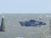 Brod naleteo na minu
