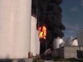 Gori skladište goriva u Ukrajini